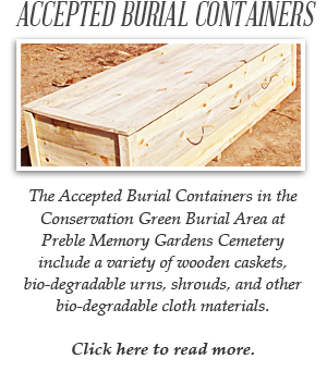 Burial Containers